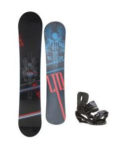 LTD Quest Snowboard 154 w/ Sapient Stash Snowboard Bindings