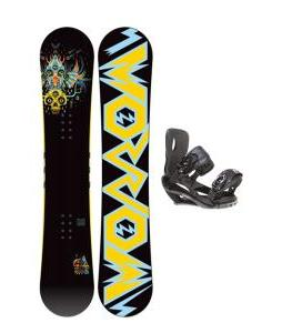 Morrow Truth Snowboard 158 w/ Sapient Wisdom Snowboard Bindings