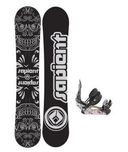 Sapient Outlaw Wide Snowboard 157 2014 w/ Ride LX Snowboard Bindings