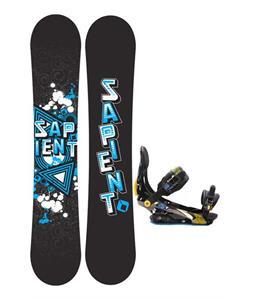 Sapient Trust Snowboard 152 2014 w/ Rome S90 Snowboard Bindings