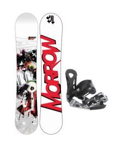 Morrow Radium Wide Snowboard 163 w/ Ride LX Snowboard Bindings