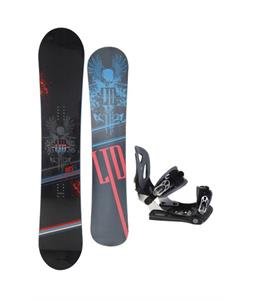 LTD Quest Snowboard 154 w/ Lamar MX30 Snowboard Bindings