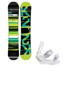 K2 Playback Snowboard w/ Burton Triad Snowboard Bindings