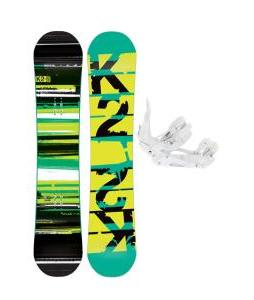 K2 Playback Wide Snowboard w/ Ride EX Snowboard Bindings