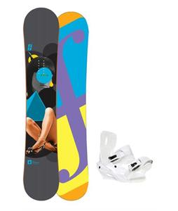 Forum Youngblood Doubledog Snowboard 154 w/ Lamar Wrap Snowboard Bindings
