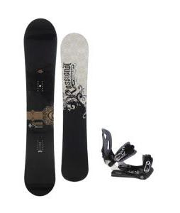 Rossignol Sultan Midwide Snowboard 155cm w/ Lamar MX30 Snowboard Bindings