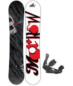 Morrow Fury Wide Snowboard 159 w/ Burton P1.1 Snowboard Bindings