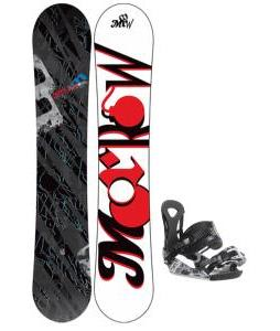 Morrow Fury Snowboard 159 w/ Ride LX Snowboard Bindings