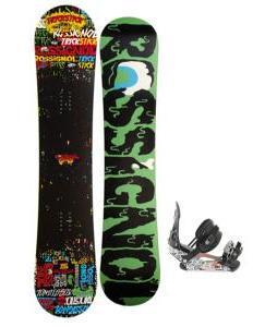 Rossignol Trickstick Amptek Snowboard 151 w/ Ride LX Snowboard Bindings