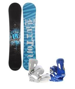 Burton Verdict Snowboard with Forum Faction Snowboard Bindings