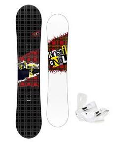 Rossignol Contrast Snowboard 150 w/ Sapient Zeus Snowboard Bindings