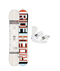Ride Arcade UL Snowboard w/ Sapient Zeus Snowboard Bindings