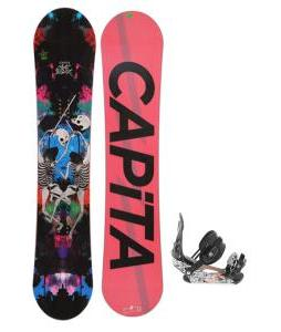 Capita Mindblower LTD Snowboard 151 w/ Ride LX Snowboard Bindings