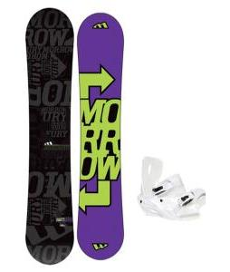 Morrow Fury Snowboard 163 w/ Sapient Zeus Snowboard Bindings