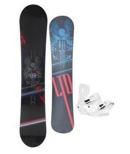 LTD Quest Snowboard 157 w/ Sapient Zeus Snowboard Bindings