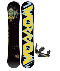 Morrow Truth Snowboard w Rome S Snowboard Bindings