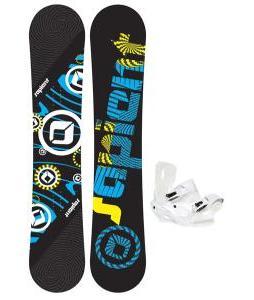 Sapient Cog Snowboard 153 2014 w/ Sapient Zeus Snowboard Bindings