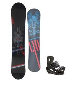 LTD Quest Snowboard 157 w/ Sapient Stash Snowboard Bindings