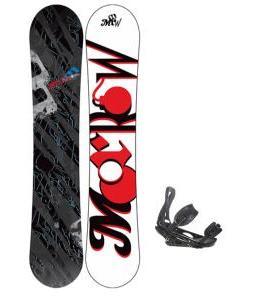 Morrow Fury Snowboard 155 w/ Burton P1.1 Snowboard Bindings
