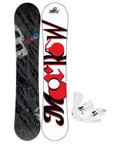 Morrow Fury Wide Snowboard 163 w/ Sapient Zeus Snowboard Bindings