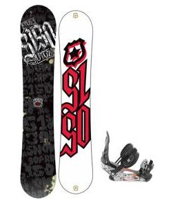 5150 Vice Wide Snowboard 159 w/ Ride LX Snowboard Bindings