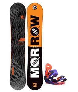 Morrow Clutch Snowboard One fifty two with Union Force SL Snowboard Bindings