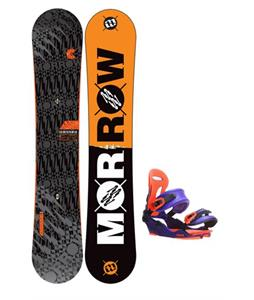 Morrow Clutch Snowboard 152 w/ Union Force SL Snowboard Bindings