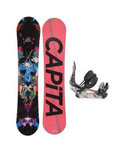 Capita Mindblower LTD Snowboard 155 w/ Ride LX Snowboard Bindings