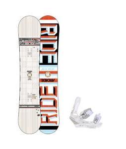 Ride Arcade UL Snowboard w/ Burton Triad Snowboard Bindings