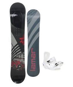 Lamar Mission Snowboard 163 w/ Sapient Zeus Snowboard Bindings