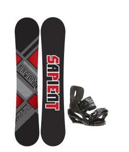 Sapient Future Snowboard 156 2014 w/ Sapient Stash Snowboard Bindings