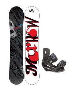 Morrow Fury Snowboard 163 w/ Sapient Wisdom Snowboard Bindings