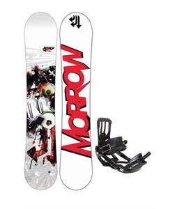 Morrow Radium Snowboard 155 w/ Salomon Pact Snowboard Bindings
