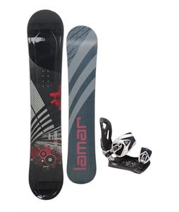 Lamar Mission Snowboard 163 w/ LTD LT35 Snowboard Bindings
