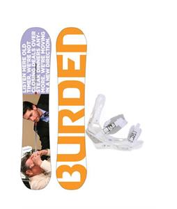 Burton Burden Snowboard with Burton Triad Snowboard Bindings