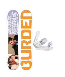 Burton Burden Snowboard w/ Burton Triad Snowboard Bindings