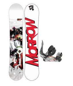 Morrow Radium Snowboard 155 w/ Ride LX Snowboard Bindings