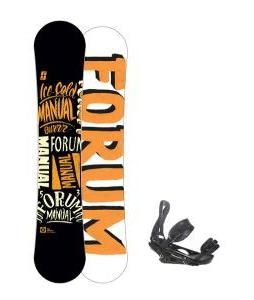 Forum Manual Snowboard 153 w/ Burton P1.1 Snowboard Bindings