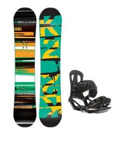 K2 Playback Snowboard w/ Head NX One Snowboard Bindings