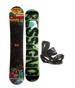 Rossignol Trickstick Amptek Snowboard 151 w/ Sapient Stash Snowboard Bindings