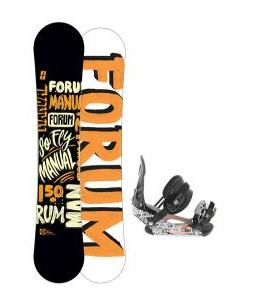 Forum Manual Snowboard 150 w/ Ride LX Snowboard Bindings
