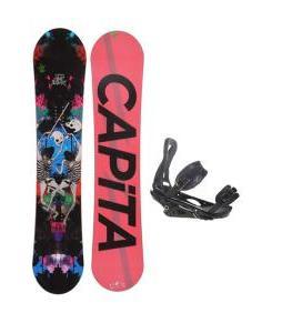 Capita Mindblower LTD Snowboard 155 w/ Burton P1.1 Snowboard Bindings