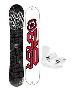 5150 Vice Snowboard 159 w/ Sapient Zeus Snowboard Bindings
