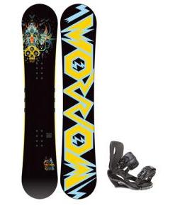 Morrow Truth Snowboard 152 w/ Sapient Wisdom Snowboard Bindings