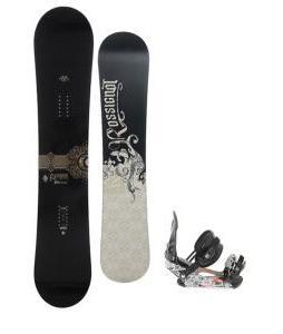 Rossignol Sultan Snowboard 150cm w/ Ride LX Snowboard Bindings