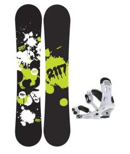 2117 Of Sweden Identity Snowboard 152 2014 w/ 2117 Of Sweden Storm Snowboard Bindings 2014