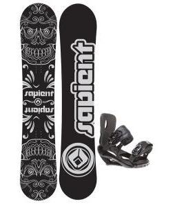 Sapient Outlaw Snowboard 154 2014 w/ Sapient Wisdom Snowboard Bindings