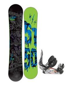 5150 Movement Snowboard 155 w/ Ride LX Snowboard Bindings