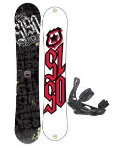 5150 Vice Snowboard 151 w/ Burton P1.1 Snowboard Bindings