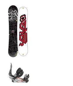 5150 Vice Snowboard 159 w/ Ride LX Snowboard Bindings
